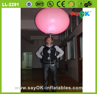 large giant decorative inflatable led flower balloon blower for sale
