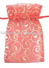popular bronzing organza gift bags for weddings