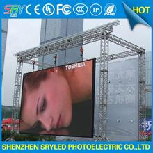 competitive price outdoor led video advertising sign rental structure led display taxi top