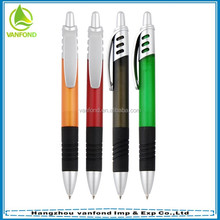 2015 hot sale plastic pens with logo