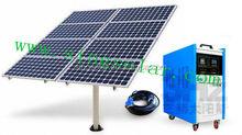 Anodized aluminum alloy frame solar power system