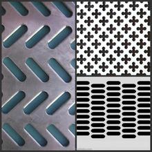Perforated metal mesh/perforated plastic mesh panel/thin metal sheet