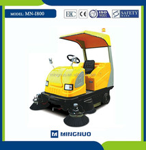 I800 OEM semi-automatic dust collecting machine, leaf sweeping car,concrete floor sweeper vehicle