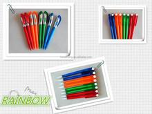 ball pen with clip & big clip design ballpen ch6181