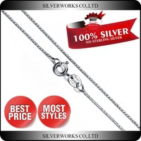 Good Quality Italian Sterling silver Jewelry Findings Silver Chain Wholesale