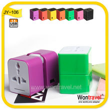 Wontravel New Design wholesale adaptor charger with 2.1A for phone/tablet/computer,universal travel charger with CE ROHS FCC