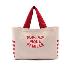 women fashion canvas tote bag, canvas shopping bag