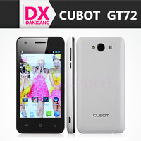 Cellphone Cubot GT72 4.0 Inch 800x480 pixels TFT Touch Screen 2+2MP Camera MTK6572 Dual Core 1.2GHz 256MB RAM 256MB ROM