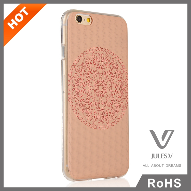 Good quality soft TPU mobile phone case for iphone 6s