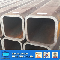 rhs steel square hollow section steel pipe lowest price rectangular thick wall metal tube