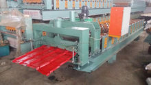 GLAZED COLORFUL ROOFING STEEL TILE SHEET/ Step tile for Africa roofing sheet roll forming machine
