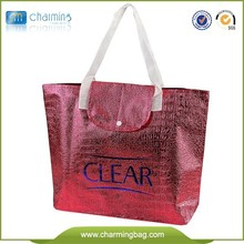 Cheap And High Quality Customize ECO Croco pattern non-woven bag recyclable wholesale shopping bag OEM production tote bag