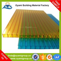 Long lifespan thailand cellular polycarbonate for outdoor canopy