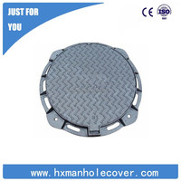 EN124 OEM water meter manhole cover with frame,manhole cover