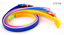 2014 fashion candy color silicone belt/sports silicone belt/lovely silicone rubber belt