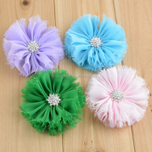 Fashion Design Chiffon Flower Accessory for Garment