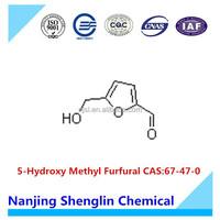 5-Hydroxy Methyl Furfural CAS:67-47-0 Furfural
