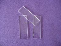 Purity clear microscope quartz slide