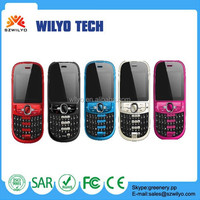 WH90 Cheap Golden Phone 2.2inch Qwerty Keyboard Dual Sim Music Phone Chinese Big Keyboard Gold Color Mobile Phone For Elderly