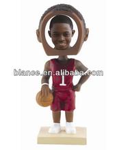 basketball boby bobble head photo frame