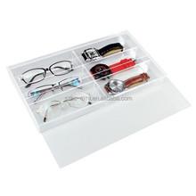 acrylic wall mounted eyewear display case, sunglass display exhibition