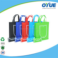 Eco Friendly Reycled multifunction folding non woven fabric bags