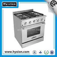 """Hyxion 30"""" gas kitchen stoves induction hob halogen oven cooker"""