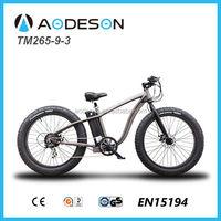 2015 new design fat tire electric bike snow road ebikeTM265-9-3/electric bike, electric bicycle for hot sale in EU
