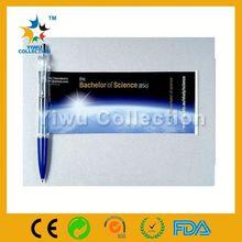 Promotion Advertising Starts Floater Liquid Filled Pen