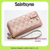 13056 Zip-around pink branded ladies wallets