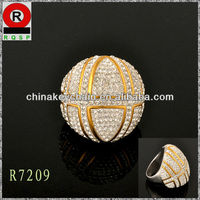 2014 Latest Fashion Jewelry Ring Design with Low Prices and High Quality for US Market