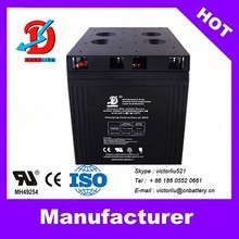 Kanglida 2015 hot sale 2v 2000ah deep cycle solar battery manufucturer in China