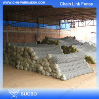 High Quality Galvanized Chain Link Fence/Used Chain Link Fence Machine For Sale