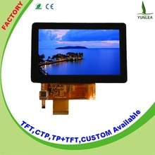 Samples in stock 5 inch capacitive touch screen lcd display