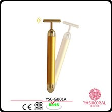 24k gold energy beauty bar face massage device roller facial massage device