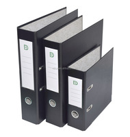 A4 size eco-friendly PVC cover lever arch file with box