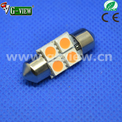 hotsale 28mm led car light, 4smd auto led ,auto led lighting 28mm