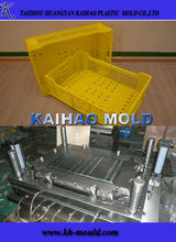 plastic crate mould supplier & injection crate mold maker