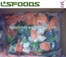 China frozen iqf mixed vegetables