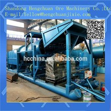 2014 gold concentrate washing plant trommel scrubber machine
