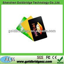 2013 hot selling Plastic Ti256 Hf 13.56mhz Card