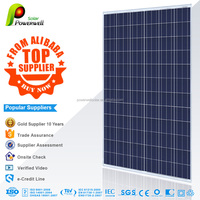 Powerwell Solar Super Quality And Competitive Price CE,IEC,CEC,TUV,ISO,INMETRO Approval Standard 300wp solar pv module