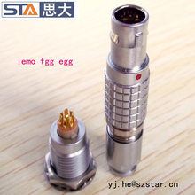 lemo replacement 7 pin waterproof metal circular connector