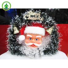 New design Christmas items for Christmas wreaths with Santa figurine
