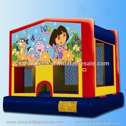 China children funny custom inflatable bouncer/inflatable bouncer house