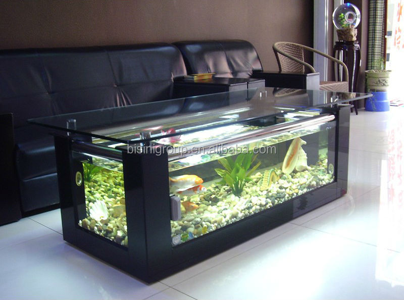 Modern Style Acrylic Rectagle Coffee Table Aquarium Fish Tank Table Bf09 41032 Buy Coffee