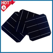 cheap price high efficiency A grade156x156 monocrystalline solar cell made in Taiwan