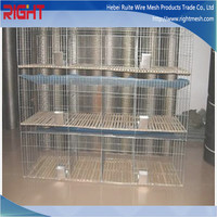 3 Tiers Breeding Rabbit Cage, Mother and Baby Rabbit Cage