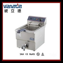 Durable With CE Certified All Stainless Steel Electric Industrial Fryer