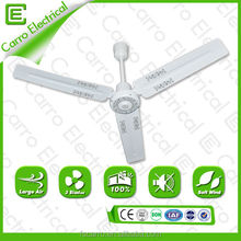 "good quality 48"" or 56"" solar power decorative ceiling fan solar rechargeable ceiling fan"